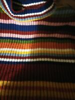 Vintage 90s Muti Colored Sweater Large