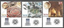 Israel Year 2007 Stamps MNH With Tab UNESCO World Heritage Sites In Israel