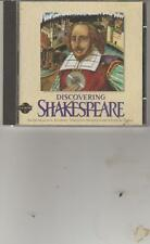 Vintage-Discovering Shakespeare CD ROM Disk for Windows?MAC 1995