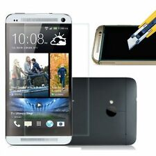 TEMPERED GLASS SCREEN PROTECTOR ANTI SCRATCH FILM For HTC ONE M7 UK SELLER
