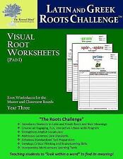 The Rooted Mind Latin And Greek Roots Challenge Worksheets