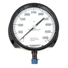 "Ashcroft 601379S04LXLL5K DuraGauge Pressure Gauge 6"" Dial 0-5,000 psi"