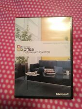 Microsoft Office 2003 Professional Brand New Word Excel Software