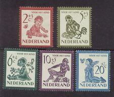 NVPH 563-567 Kind 1950 postfris (MNH)