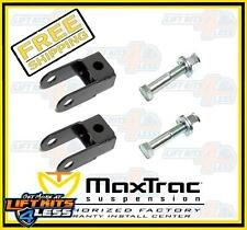 MaxTrac Suspension 530900 Front Shock Extenders for 2000-2006 Cadillac Escalade