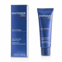 Phytomer Homme Age Optimal Face & Eyes Wrinkle Smoothing Cream 50ml Moisturizers