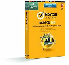 Norton 360, 2017, 1 PC Users, 6 months Retail License- Limited Stock -NO CD
