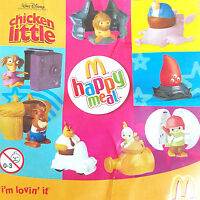 McDonalds Happy Meal Toy 2005 Chicken Little Baseball Toys - Various Figures