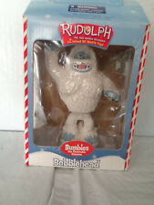 Bumbles - Abominable Snowman - Rudolph Reindeer Bobblehead - New - Misfit Toys