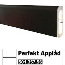 IKEA Appläd Perfekt Dekorleiste 220x6 schwarz 501.357.56