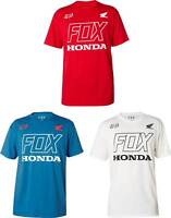 Fox Racing Honda T-Shirt - Short Sleeve MX Motocross Graphic Tee Mens