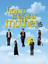 How I Met Your Mother: Season Five  (dvd)  NEW Free shipping