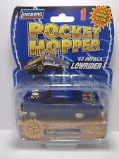 Lindberg Pocket Hopper BLUE w/ Flames '63 Impala Lowrider Series 1 Free S&H RARE