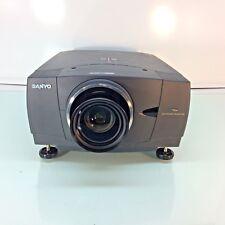 Sanyo PLV-80L LCD Projector WXGA LNS-T31A Long Lens - VGA/DVI/Component Inputs