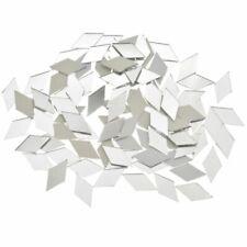 Glass Mirror Mosaic Tiles Diamond Diy Craft Handcrafted Home Wall Artwork Decor