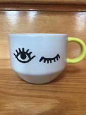 "2017 Starbucks ""Wink"" coffee cup mug 14 OZ"
