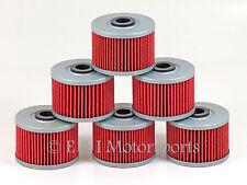 2007-2008 HONDA SPORTRAX 400EX  **6 PACK** HIFLOFILTRO HIFLO OIL FILTER