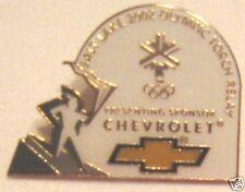 "Brooch Metal 1"" Pin Salt Lake Olympic Torch Relay Jewelry"