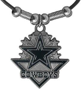 Dallas Cowboys NFL unisex cord arrowhead necklace