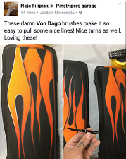 VON DAGO'S Pro-Series #0 Pinstriping Brush - Now available to the Public