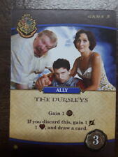 Harry Potter Hogwarts Battle The Dursleys Promo Card USAOpoly Deck Building Game