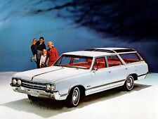 1965 Oldsmobile Cutlass Vista Cruiser, Station Wagon, Refrigerator Magnet,40 Mil