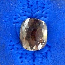 2.41TCW Red Brown Color rose Cut Oval Shape Natural Loose Diamonds for Ring