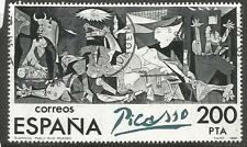 Spain Single From SC 2258 Picasso VFU (6cxb)