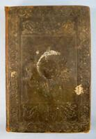 The New Testament Antique Book Holy Bible Published 1833 Lilly Wait Boston (O)