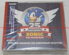 New SONIC THE HEDGEHOG 25TH ANNIVERSARY SELECTION 2 CD DVD Japan F/S WWCE-31380