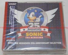 New SONIC THE HEDGEHOG 25TH ANNIVERSARY SELECTION 2 CD DVD Japan F/S WWCE-31380