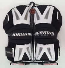 New Warrior Burn Black Large Lacrosse Protective Arm Guards / Pads