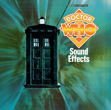 DOCTOR WHO SOUND EFFECTS - DIGITALLY REMASTERED  NEW BBC CD AUDIO BOOK