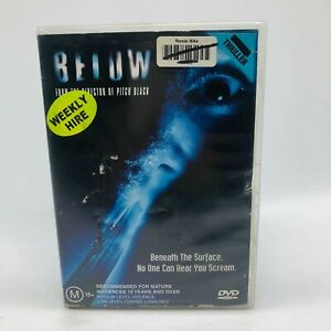 Below (DVD, 2002) Region 4 With Olivia Williams In Very Good Condition