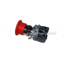 JLG SWITCH KIT STOP 40MM PUSH PULL INCLUDES BASE WITH 2 N. C. CONTACTS 4360475