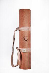 Erthe Life Sustainable Cork Yoga Mat (Fitness, Gym, Pilates, Hot, Bikram Yoga)