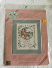 NEW Dimensions From The Heart Counted Cross Stitch Kit Psalm 23 Laura Matthews