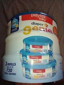 diaper genie refill bags (3 refills)