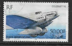 FRANCE - 2000.  AIR - 50f. Couzinet 70. (Perf 13x12½), Used.  Cat £25