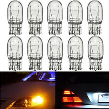10x T20 7443 W21/5W R580 Clear Glass DRL Turn Signal Stop Brake Tail Light Bulb