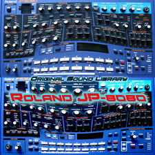 for Roland JP-8080 - unique original WAV/Kontakt Multi-Layer Samples Library DVD