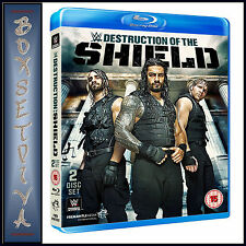 WWE: THE DESTRUCTION OF THE SHIELD **BRAND NEW BLU-RAY**
