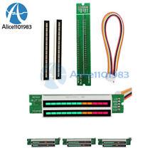 Dual 12 Stereo Level Indicator LED VU Meter Lamps Analyzer Audio Display Module