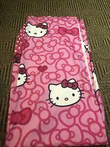 Hello Kitty Pink Fabric Shower Curtain