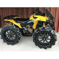Can Am Outlander 07-11  MAX//XMR 500 650 800 FLOORBOARDS FOOTWELLS ONLY