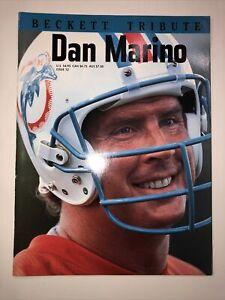 BECKETT TRIBUTE Issue 12 1995 DAN MARINO Cover NFL Football Miami Dolphins