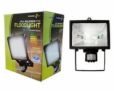 400W HALOGEN FLOODLIGHT SECURITY LIGHT OUTDOOR GARDEN WITH MOTION PIR SENSOR