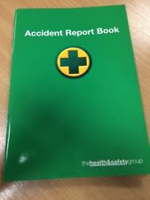 A5 ACCIDENT BOOK/FIRST AID INJURY RECORD BOOK/WORK PLACE STAFF ACCIDENT LOG BOOK