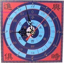 Feng Shui Time Passing / Sucess Coming Wall or Desk Clock - 15cm x 15cm