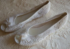 "Womens Shoes Sandals Bakers Open Toe Size 10 Gretta White 11"" Long"